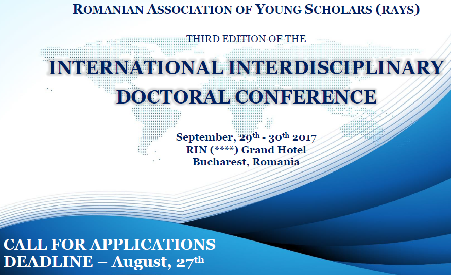 International Interdisciplinary Doctoral Conference (IIDC 2017)